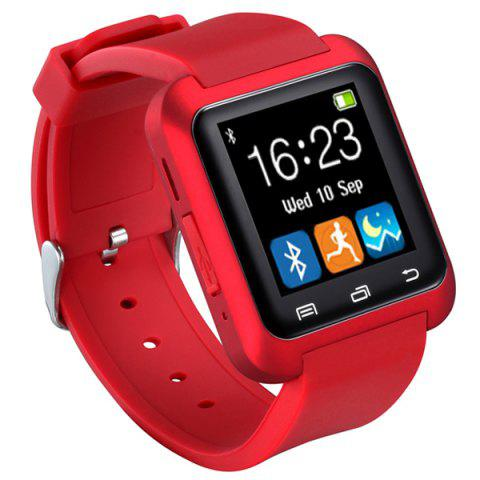 New U80 Smart Watch with Pedometer Function - BLACK  Mobile