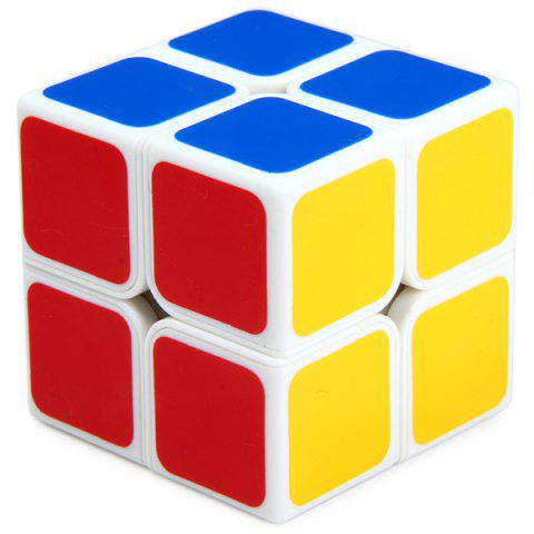 Buy Shengshou 7106A - 3 Magic Cube Aurora Creative 2 x 2 x 2 Tuning Spring Pocket Brain Teaser Toy