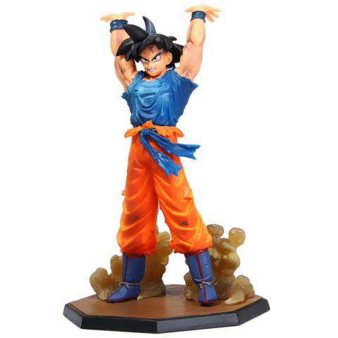 15.5m PVC Dragon Ball Son Gokou Figure Model Janpanese Anime Characters