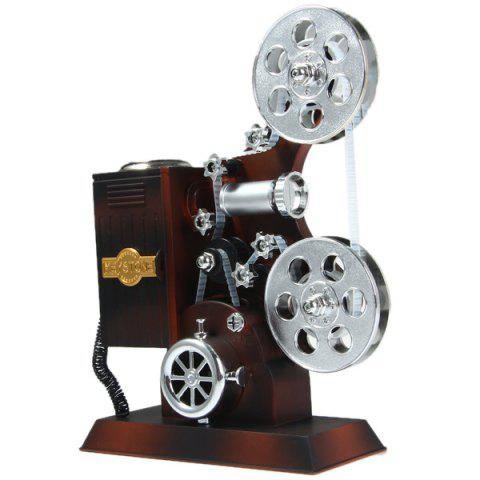Hot Delicate Projector Style Music Box for Gift Beautiful Decoration