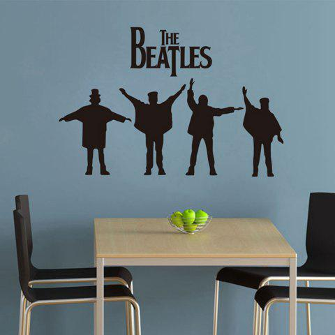 Sale The Beatles Style Wall Sticker Home Appliances Decor Wall Decals