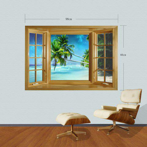 Fashion 3D Seascape Style Wall Sticker Home Appliances Decor Wall Decals