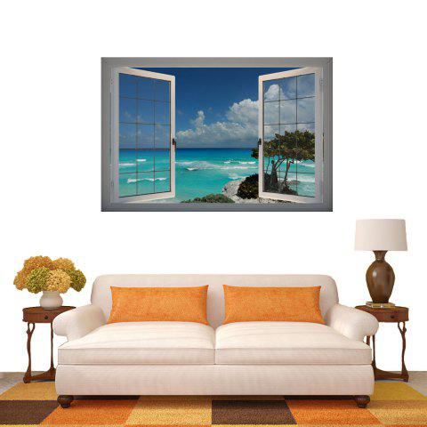 Hot 3D Wall Stickers Seascape Style Wall Decals Home Appliances Decor