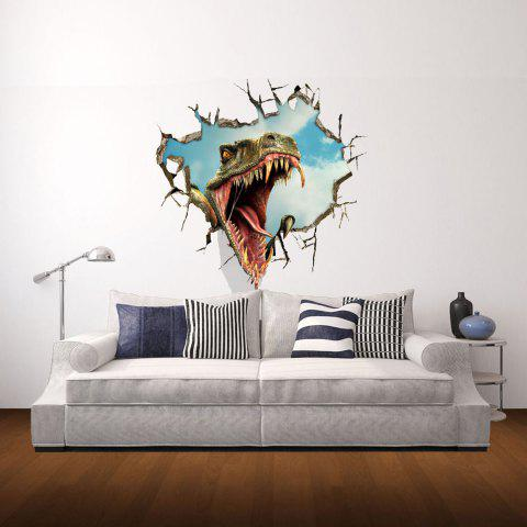 Unique 3D Wall Stickers Dinosaur Style Wall Decals Home Appliances Decor