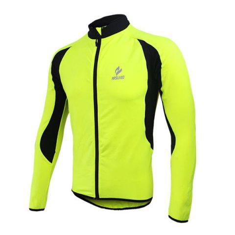 Store Arsuxeo 130022 Cycling Jersey Bike Bicycle Running Long Sleeve Clothes for Male -   Mobile