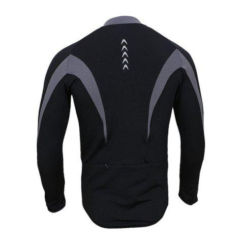 Shops Arsuxeo 130022 Cycling Jersey Bike Bicycle Running Long Sleeve Clothes for Male -   Mobile