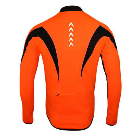 Cheap Arsuxeo 130022 Cycling Jersey Bike Bicycle Running Long Sleeve Clothes for Male -   Mobile