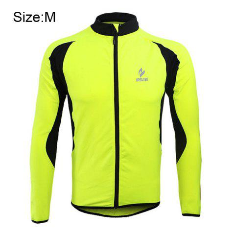 Shop Arsuxeo 130022 Cycling Jersey Bike Bicycle Running Long Sleeve Clothes for Male -   Mobile