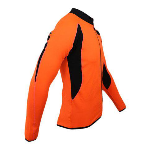 Outfits Arsuxeo 130022 Cycling Jersey Bike Bicycle Running Long Sleeve Clothes for Male -   Mobile