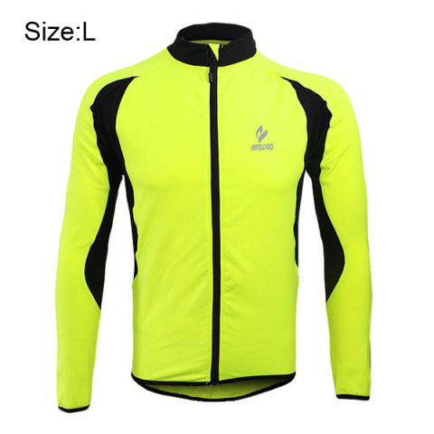 Hot Arsuxeo 130022 Cycling Jersey Bike Bicycle Running Long Sleeve Clothes for Male -   Mobile