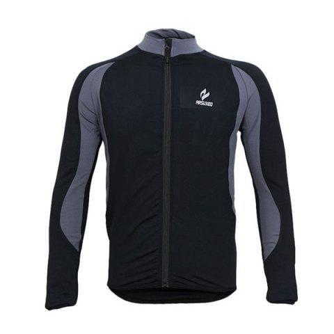 Fashion Arsuxeo 130022 Cycling Jersey Bike Bicycle Running Long Sleeve Clothes for Male -   Mobile