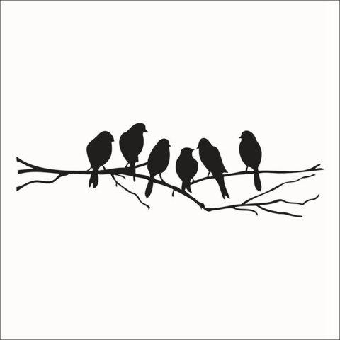 New Birds Style Wall Sticker Home Appliances Decor Wall Decals