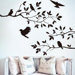 Branch and Birds Style Wall Sticker Home Appliances Decor Wall Decals -