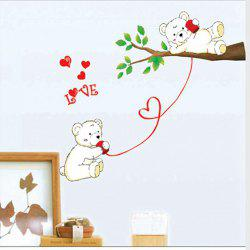 Bear Lovers Style Home Decor Animal Wall Decals For Nursery