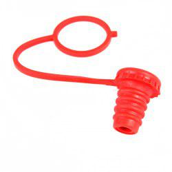 Practical Silicone Wine Pourer Bottle Stopper for Household Supplies - WATERMELON RED