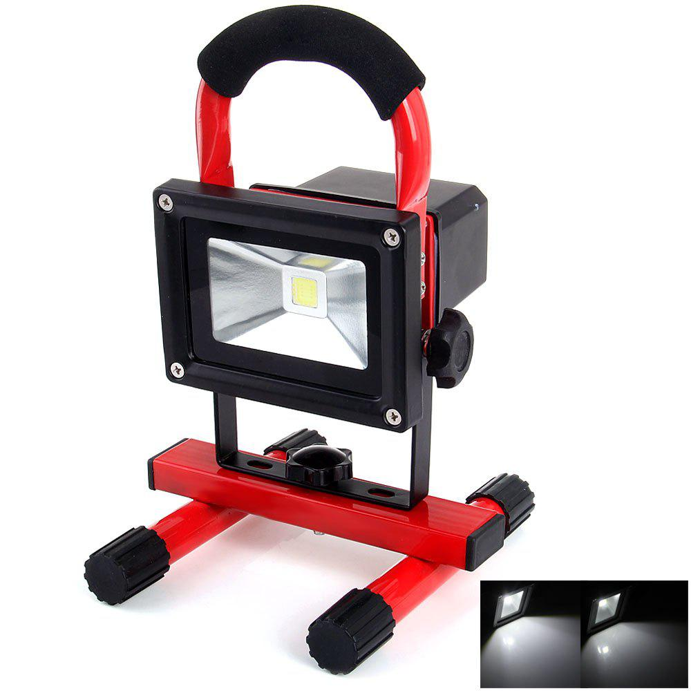 Shops YouOKLight 10W 850Lm 6000K Rechargeable Working LED Flood Light 110 - 240V