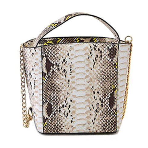 Fashion Fashionable Chain and Snake Print Design Women's Tote Bag