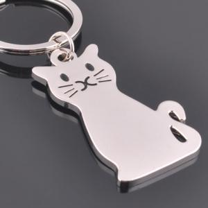 Stylish Cat Key Ring -