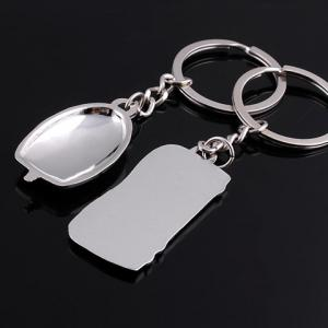 Pair of Chic Keyboard Mouse Shape Key Rings -
