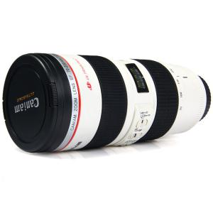 Caniam Camera Lens Cup Coffer Water Mug Cups with EF 70-200mm F/2.8L IS USM -