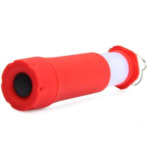 Telescopic Zooming LED Flashlight Mini Camping Lamp 3 Modes Torch -