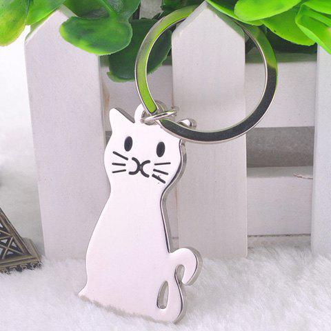 Cheap Stylish Cat Key Ring