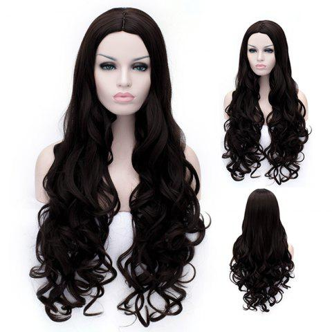 New Ladylike Long Deep Wavy Towheaded Heat Resistant Women's Synthetic Wig