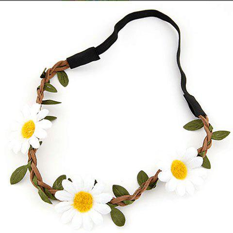 Fancy Cute Sun Flower Hairband For Women - COLOR ASSORTED  Mobile
