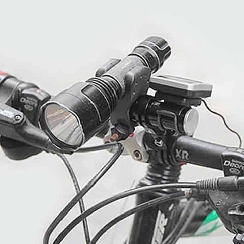 Sale GUB - 328 CNC Aluminum Alloy Mountain Road Bicycle Handlebar Extension Stopwatch Rack Flashlight Holder -   Mobile