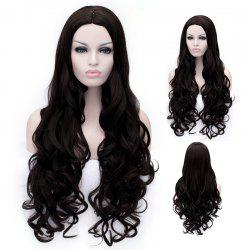 Ladylike Long Deep Wavy Towheaded Heat Resistant Women's Synthetic Wig -