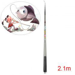 HengSheng Telescopic 2.1m High Carbon Fishing Rod Pole Stick Pro Angler Necessary