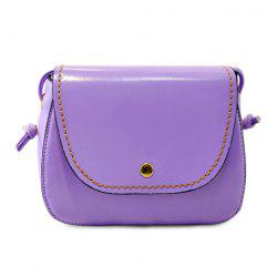 Laconic Stitching and Cover Design Women's Crossbody Bag -