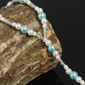 ONE PIECE Stylish Faux Pearl Decorated Women's Anklet -