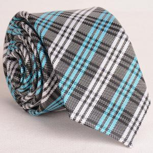 Fresh Style Colorful Stripe and Plaid Pattern Neck Tie For Men