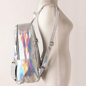 Trendy Patent Leather and Solid Color Design Women's Satchel -