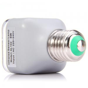 AL102 Infrared Human Body Inductive E27 Base 5W Lamp 39 LEDs Auto PIR Light - 220V 230LM -