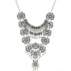 Ethnic Beads Layered Necklace For Women -