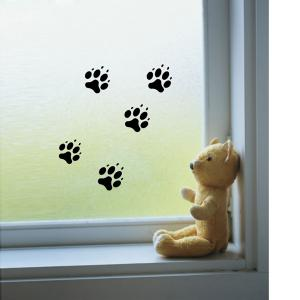 3pcs 0346 Free Combination Footprints PVC Sticker for Home Decoration -