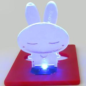 Ultra-slim Fold-up LED Pocket Rabbit Wallet / Purse Lamp / Light Credit Card - RANDOM COLOR