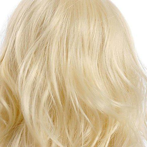 Online Fashion Fluffy Long Big Curly Heat-Resistant Glonde Blonde Capless Women's Synthetic Hair Wig - GOLDEN  Mobile