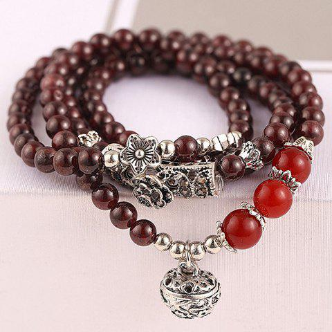 Affordable Classic Beads Layered Bracelet For Women COLORMIX