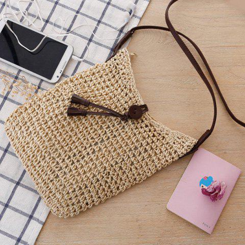Affordable Fashion Tasssels and Weaving Design Women's Crossbody Bag