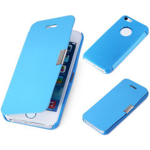 Fancy Ultra Slim Magnetic Flip Leather Case Protector for iPhone 5 5S