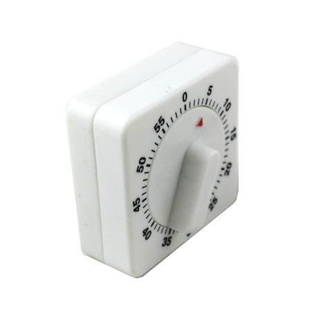 Affordable 60 Minutes Cooking Count Down Timer Reminder Kitchen Timing Device - WHITE AND BLACK  Mobile