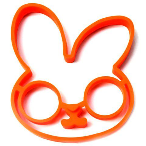 Chic Cute Rabbit Silicone Egg Mold Ring Cooking Tools Fried Egg Kitchen Gadgets