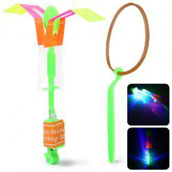 HY 558A Arrow Helicopter LED Flying Faery Children Toys for Outdoor Entertainment -