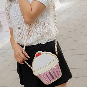Cake Ice Cream Mold Crossbody Bag -
