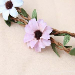 Sweet Floral Shape Double-Layered Hairband For Women -