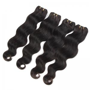 Natural Black Body Wavy Glossy 6A Unprocessed Women's Brazilian Virgin Hair Extension 8-30 Inch -