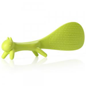 Plastic Squirrel Design Non-stick Rice Spoon Scoop 21cm / 8.26 inch Length -